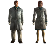 Lab technician outfit
