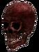 Mutilated skull