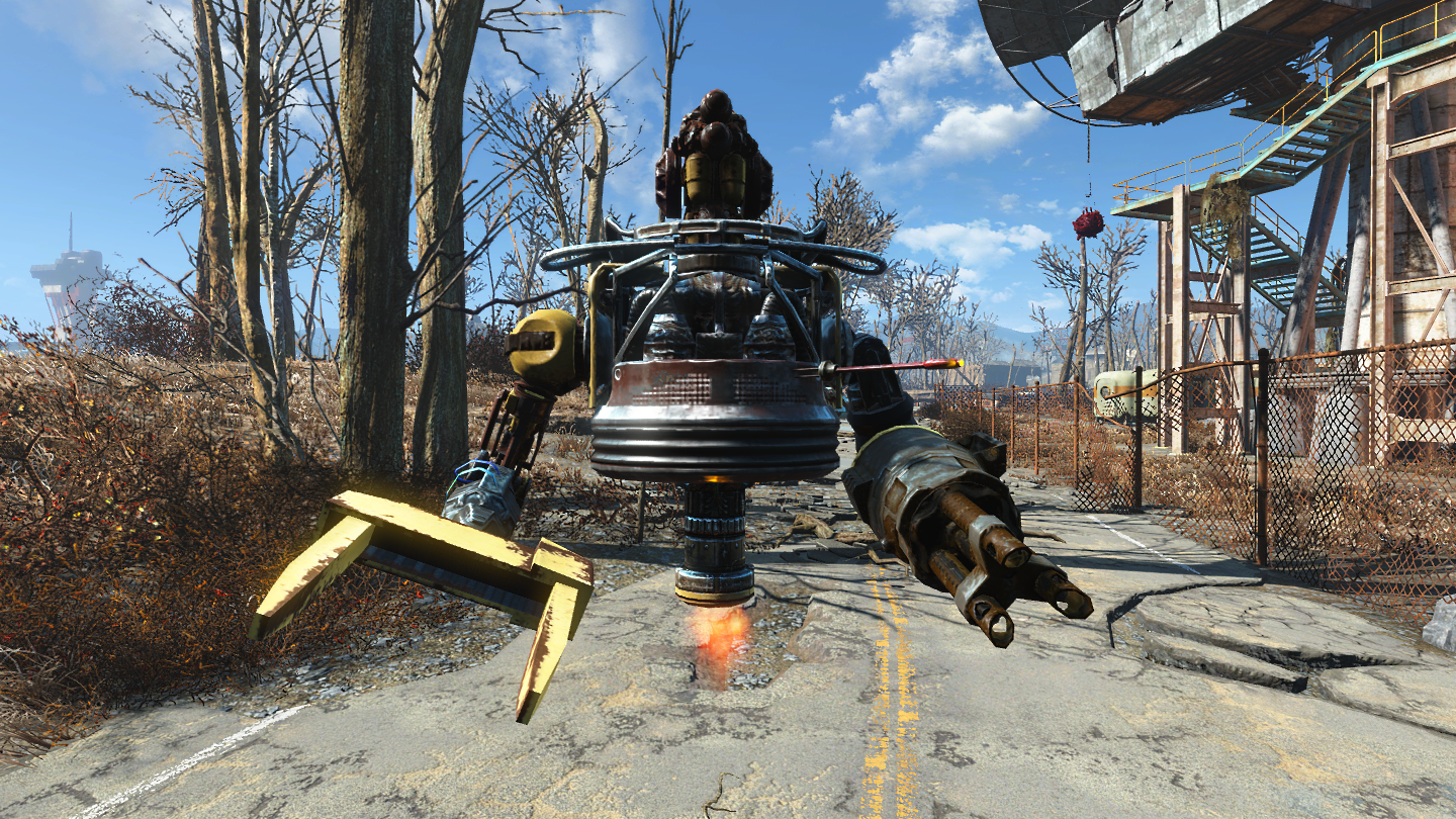 fallout 4 how to build robots