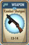 FoS Combat Shotgun Card