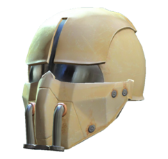 Synth field helmet