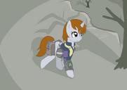 33117 - fallout equestria fanfic art Littlepip