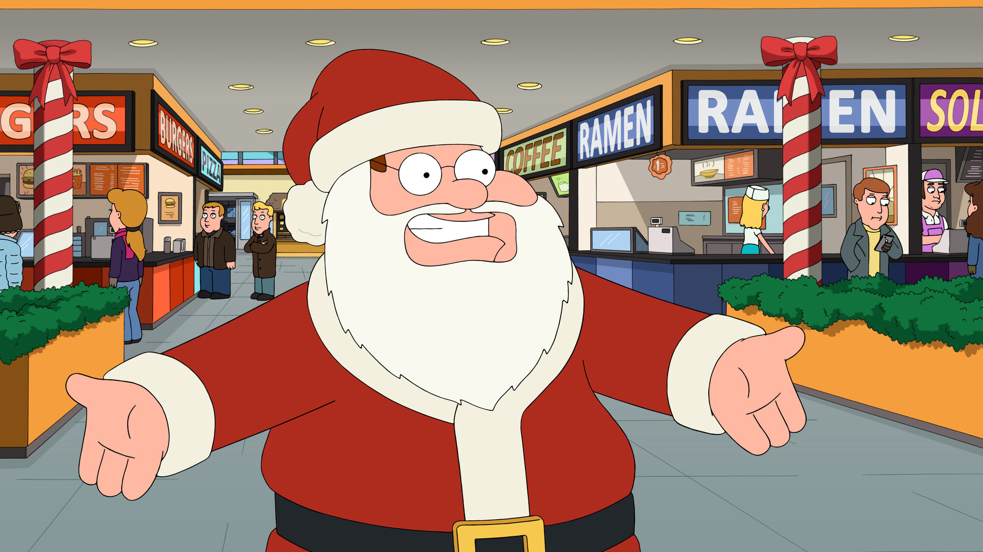 How the griffin stole christmas family guy wiki fandom for The griffin