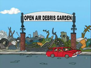 Open Air Debris Garden Family Guy Wiki Fandom Powered