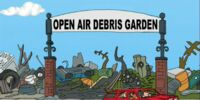 Open Air Debris Garden