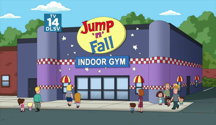 Jump N Fall Family Guy Wiki Fandom Powered By Wikia