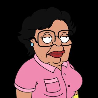 Family Guy Putzfrau