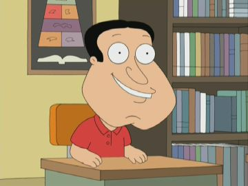 Glenn Quagmire reveals he  Quagmire Face
