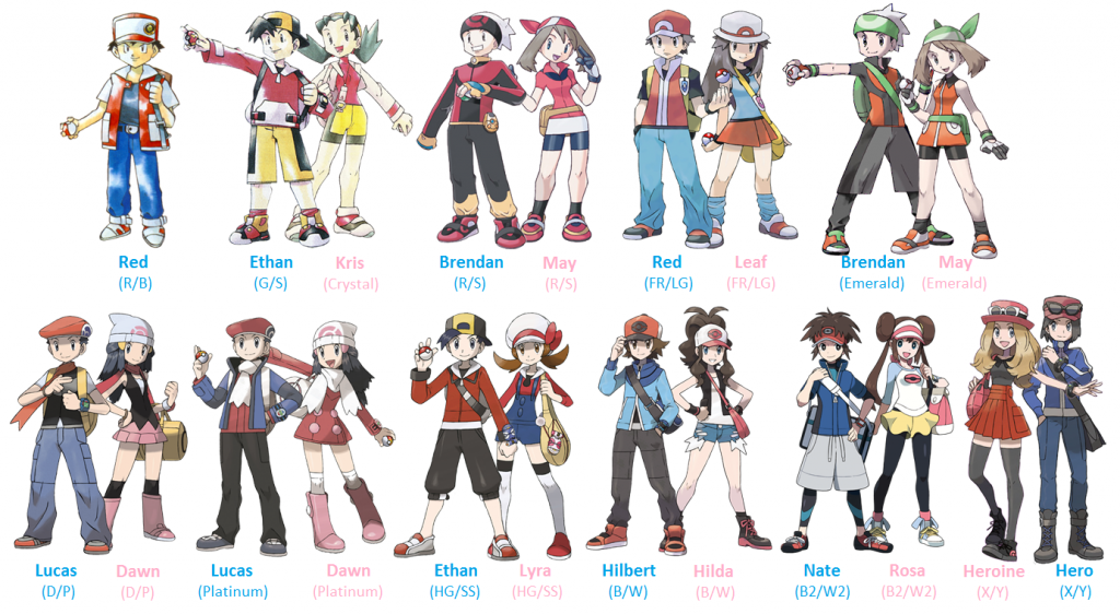 Pokemon And Y Anime Characters Names : Image pokemon and y characters namesvp pok mon