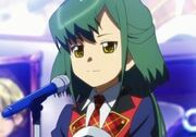 Shiroi arisawa or Takahashi Minami berore transfrom as cure captain