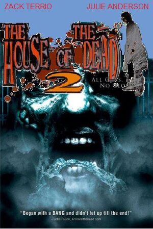 The House of the Dead 2 VHS cover