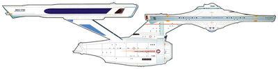 USS Enterprise (NCC-1701), post refit