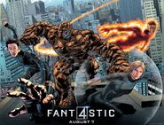 Fantastic Four Bryan Fitch poster