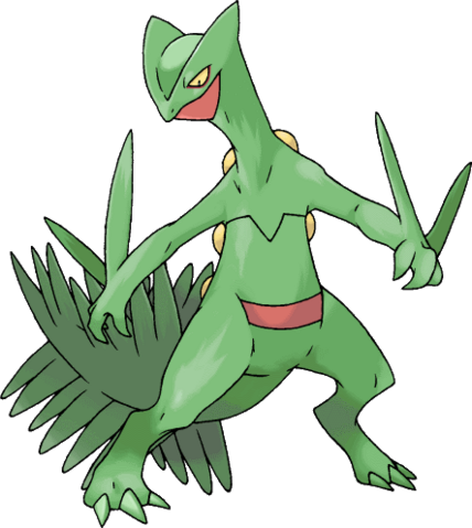 File:Sceptile by Xous54.png