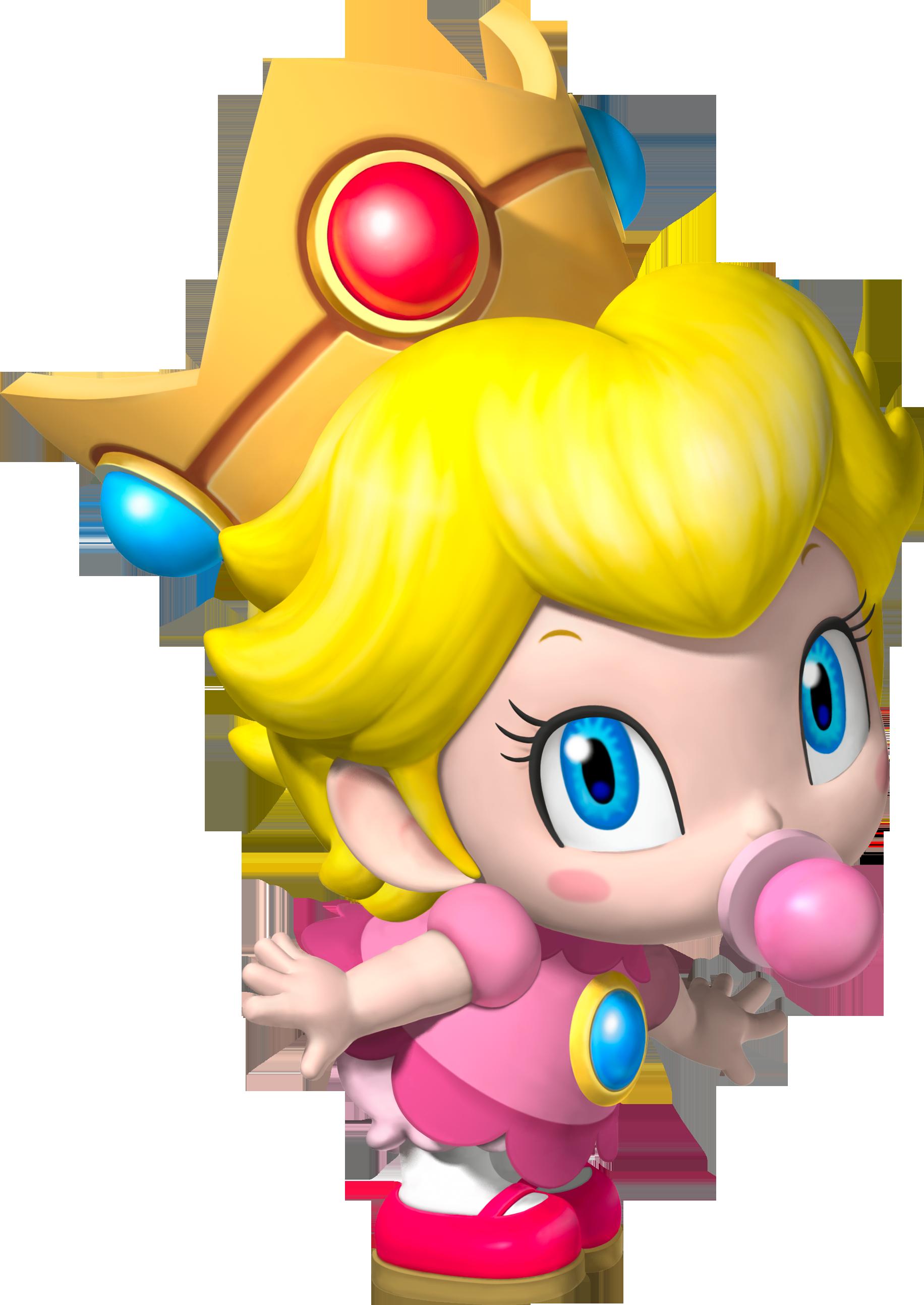 Baby peach fantendo nintendo fanon wiki fandom - Bebe mario et bebe luigi ...