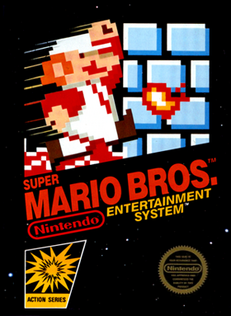 Super Mario Bros. box