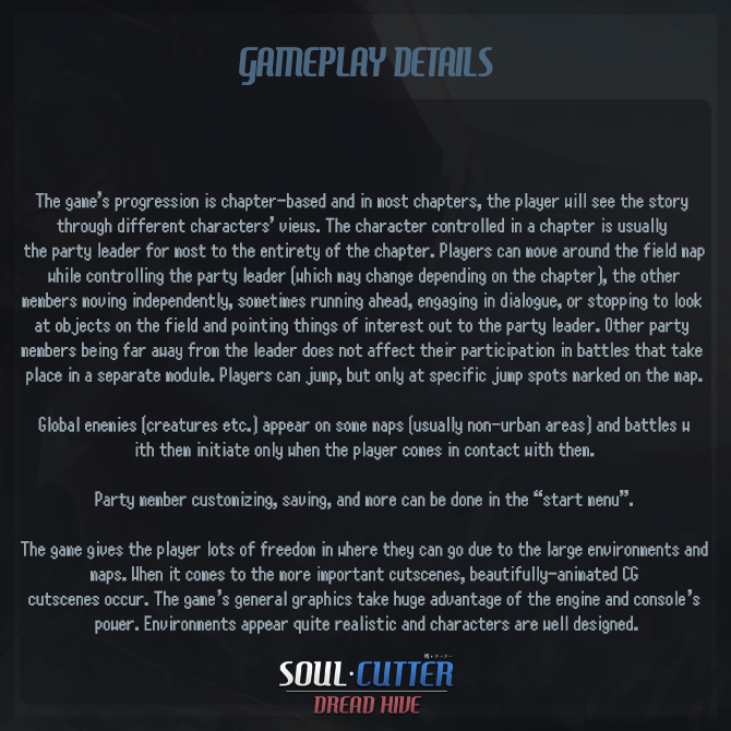 SC - Gameplay Details