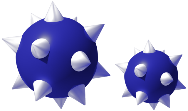 File:Blue Spiked Balls Art.png