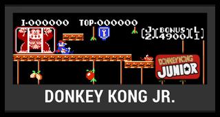 ACL -- Super Smash Bros. Switch stage box - Donkey Kong Jr.