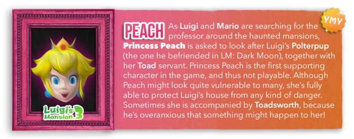 LM3 Character Info - Peach