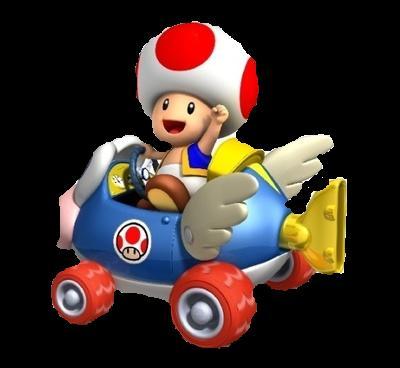 Mario Kart Wii Radio Controlled Kart: Toad (28cm Tall) Nintendo ...