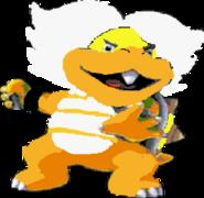 Ludwig von Koopa (SMW sprite colors)- New Super Mario Bros. Wii