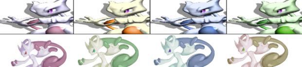 Mewtwo Palette