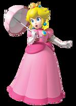 Peach with parasol (Super Mario Bros SS)