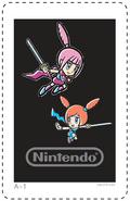 AR 3DS kaart Kat & Ana