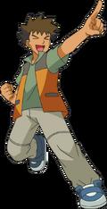 Brock DP Anime art
