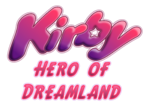 Kirby Hero of Dreamland Logo
