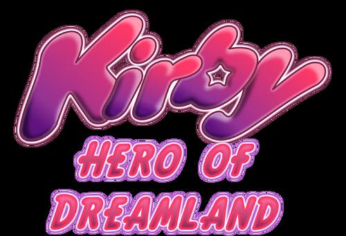 Kirby Hero of Dreamland Logo
