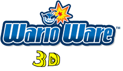 WarioWare logo 3D
