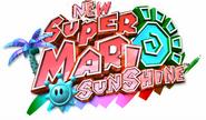 New Super Mario Sunshine Logo