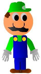 File:Cartoon Luigi.png