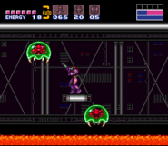 Super Metroid Tourian Metroids