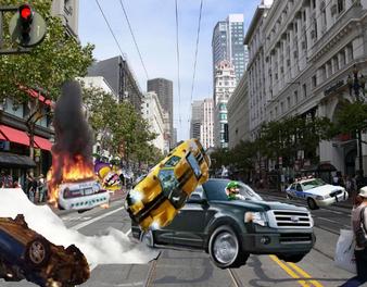 Mario Kart Hot pursuit 3 Gameplay
