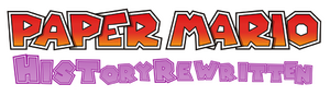 Paper mario history rewritten logo by samjoos-dac1i7b