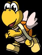 Yellow Koopa Paratroopa