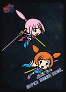 Kat & Ana - JSSB amiibo card