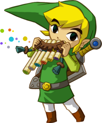 File:LinkSTPlayingFlute.png