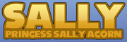 Princess sally acorn logo