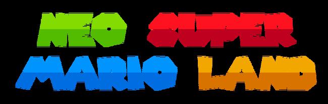 Neo Super Mario Land Logo