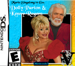 Dolly Parton and Kenny Rogers!