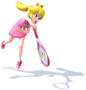 Princess Peach - Mario Tennis Ultra Smash