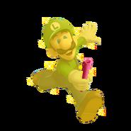 Gold Luigi by william edwards63631