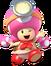 Captain Toadette (Super Smash Bros