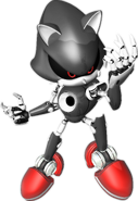 Silver Metal Sonic