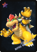 Bowser - JSSB amiibo card