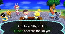 Animal Crossing Mayor
